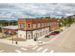 Property for sale at 400 VICTOR Avenue, Victor,  Colorado 80860
