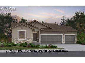 Property for sale at 10472 Mount Rosa Lane, Colorado Springs,  Colorado 80924