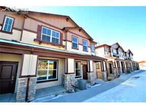Property for sale at 5542 Stetson Hills Boulevard, Colorado Springs,  Colorado 80917