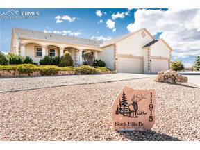 Property for sale at 11915 Black Hills Drive, Peyton,  Colorado 80831