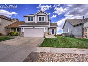 Property for sale at 4963 Laredo Ridge Drive, Colorado Springs,  Colorado 80922