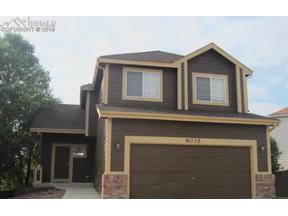Property for sale at 6035 Hombre Court, Colorado Springs,  Colorado 80922