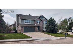 Property for sale at 15325 Jessie Drive, Colorado Springs,  Colorado 80921