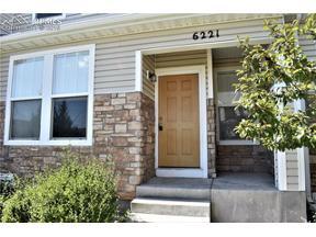 Property for sale at 6221 Sierra Grande Point, Colorado Springs,  Colorado 80923