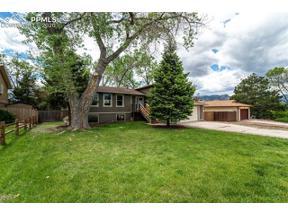 Property for sale at 843 N Pulpit Rock Circle, Colorado Springs,  Colorado 80918