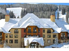 Property for sale at 172 Beeler Place 302, Copper Mountain,  Colorado 80443