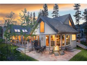 Property for sale at 128 Windwood CIRCLE, Breckenridge,  Colorado 80424