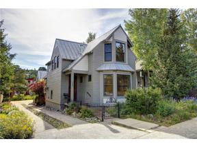 Property for sale at 210 S French STREET, Breckenridge,  Colorado 80424