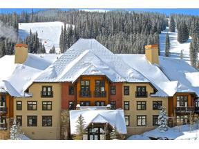 Property for sale at 172 BEELER Place 209 C, Copper Mountain,  Colorado 80443