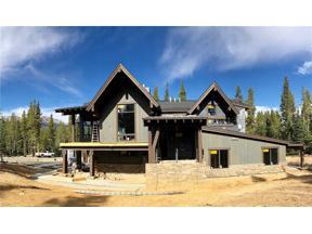 Property for sale at 160 Cucumber DRIVE, Breckenridge,  Colorado 80424
