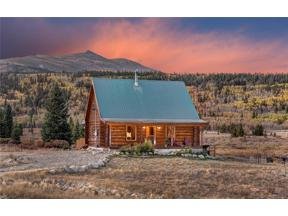 Property for sale at 315 KOOTCHIE KOOTCHIE ROAD, Alma,  Colorado 80420