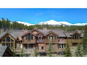 Property for sale at 88 Snowy Ridge ROAD, Breckenridge,  Colorado 80424