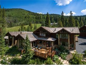 Property for sale at 1152 Indiana Creek ROAD, Blue River,  CO 80424