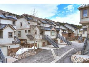 Property for sale at 224 Wheeler PLACE, Copper Mountain,  Colorado 80443