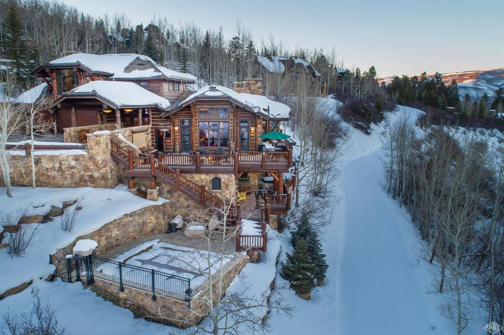 Photo of home for sale at 711 Bachelor Ridge Rd., Avon CO