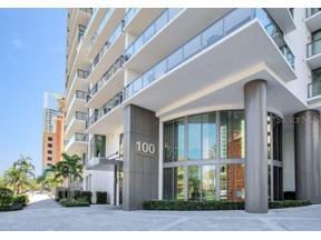 Property for sale at 100 1st Avenue N Unit: 305, St Petersburg,  Florida 33701