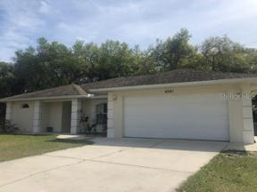 Property for sale at 4581 Caribou Avenue, North Port,  Florida 34287