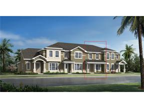 Property for sale at 10075 Randal Walk Street Unit: Lot 37, Orlando,  Florida 32832