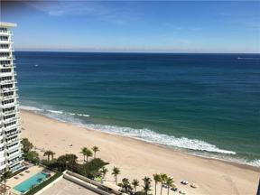 Property for sale at 3500 Galt Ocean Dr Unit: 1714, Fort Lauderdale,  Florida 33308