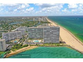 Property for sale at 2100 S Ocean Ln Unit: 602, Fort Lauderdale,  Florida 33316