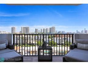 Property for sale at 3703 NE 166 St Unit: 904, Eastern Shores,  Florida 33160