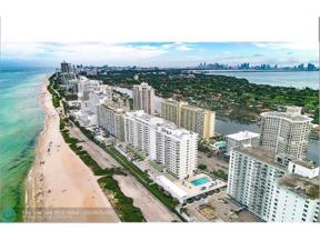 Property for sale at 5601 Collins Ave Unit: 1021, Miami Beach,  Florida 33140