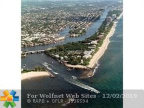 Property for sale at 2737 NE 28th St Unit: 5W, Lighthouse Point,  Florida 33064