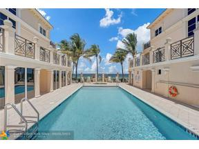 Property for sale at 4318 El Mar Drive Unit: 204, Lauderdale By The Sea,  Florida 33308