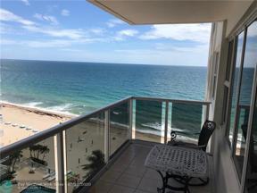 Property for sale at 3700 Galt Ocean Dr Unit: 904, Fort Lauderdale,  Florida 33308