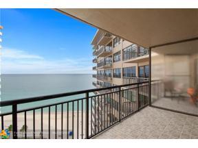 Property for sale at 3800 Galt Ocean Dr Unit: 1401, Fort Lauderdale,  Florida 33308