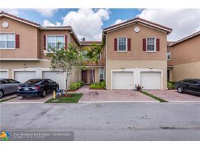 Property for sale at 5860 Hampton Hills Blvd Unit: 5860, Tamarac,  Florida 33321
