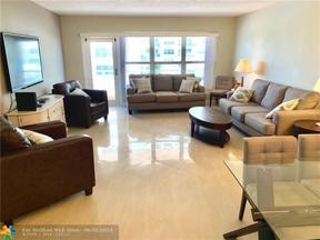 Property for sale at 3850 Galt Ocean Dr Unit: 308, Fort Lauderdale,  Florida 33308
