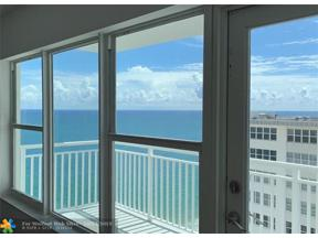 Property for sale at 3750 Galt Ocean Dr Unit: 1803, Fort Lauderdale,  Florida 33308