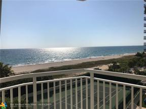 Property for sale at 1770 S Ocean Blvd Unit: 605, Lauderdale By The Sea,  Florida 33062