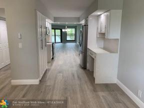Property for sale at 7439 Fairfax Dr Unit: 206, Tamarac,  Florida 33321