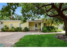 Property for sale at 1632 N Victoria Park Rd, Fort Lauderdale,  Florida 33305