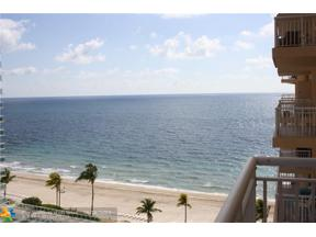 Property for sale at 3850 Galt Ocean Dr Unit: 1008, Fort Lauderdale,  Florida 33308
