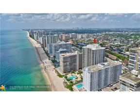 Property for sale at 4240 Galt Ocean Dr Unit: 1203, Fort Lauderdale,  Florida 33308