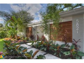 Property for sale at 5821 NE 14th Way, Fort Lauderdale,  Florida 33334