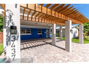 Property for sale at 3437 NE 18th Ave, Oakland Park,  Florida 33306