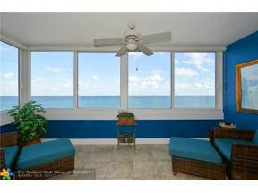 Property for sale at 4040 Galt Ocean Dr Unit: 818, Fort Lauderdale,  Florida 33308