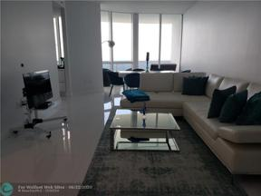 Property for sale at 18201 Collins Ave Unit: 4809, Sunny Isles Beach,  Florida 33160