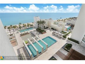 Property for sale at 101 S Fort Lauderdale Beach Blvd. Unit: 1204, Fort Lauderdale,  Florida 33316