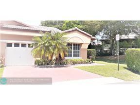 Property for sale at 9829 Malvern Dr Unit: 9829, Tamarac,  Florida 33321