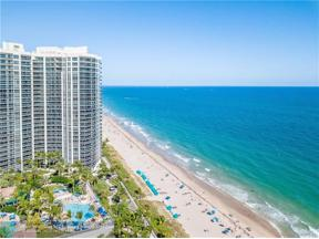 Property for sale at 3200 N Ocean Boulevard Unit: 909, Fort Lauderdale,  Florida 33308