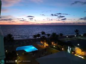 Property for sale at 4010 Galt Ocean Dr Unit: 809, Fort Lauderdale,  Florida 33308
