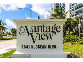 Property for sale at 2841 N Ocean Blvd Unit: 1202, Fort Lauderdale,  Florida 33308
