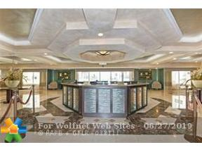 Property for sale at 3400 Galt Ocean Dr Unit: 505s, Fort Lauderdale,  Florida 33308