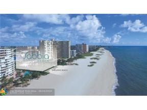 Property for sale at 730 N Ocean Blvd. Unit: 502, Pompano Beach,  Florida 33062