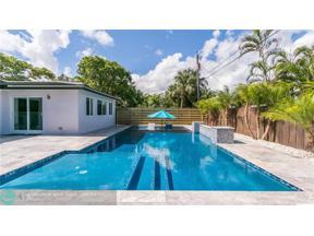 Property for sale at 1401 NE 41st Street, Oakland Park,  Florida 33334